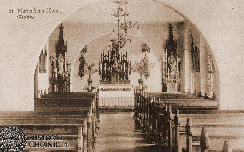 Kaplica przy zakładzie św. Boromeusza.