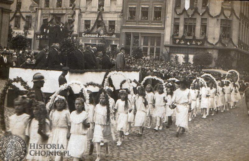 Wizyta prezydenta Wojciechowskiego. Sierpień 1924 r.
