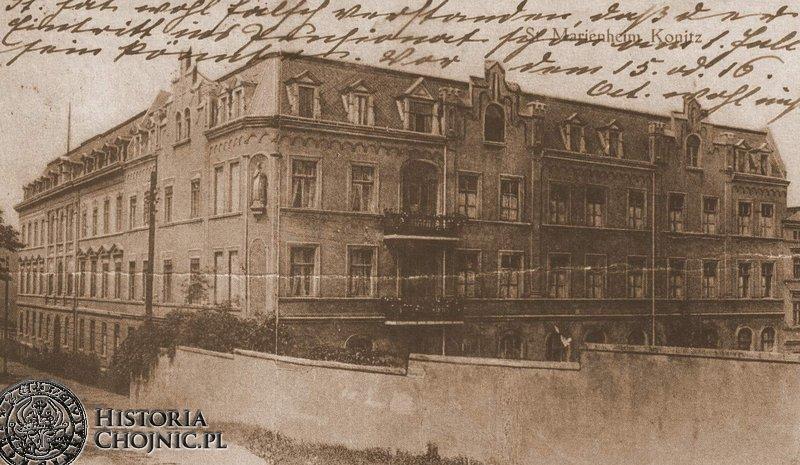 Tzw. Dom Marianski. Ok. 1916 r.