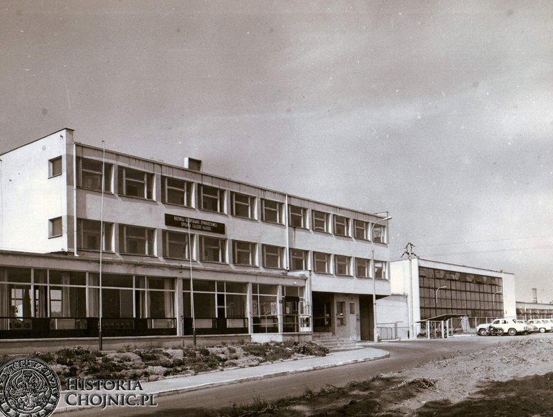 Nowo oddany do użytku Zakład Mleczarski w Chojnicach.