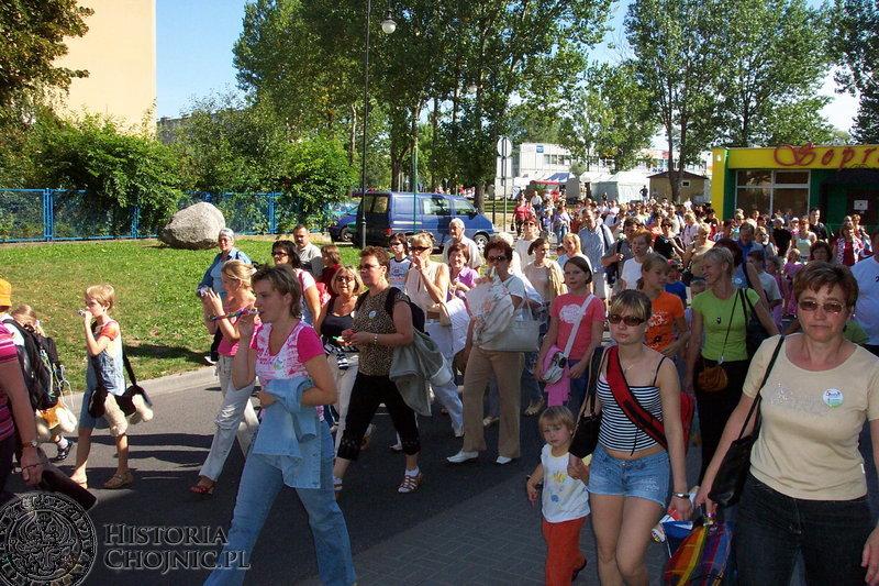 Pielęgniarki i położne z terenu naszego województwa wraz ze swymi rodzinami bawiły się V festynie przy Parku Wodnym w Chojnicach.
