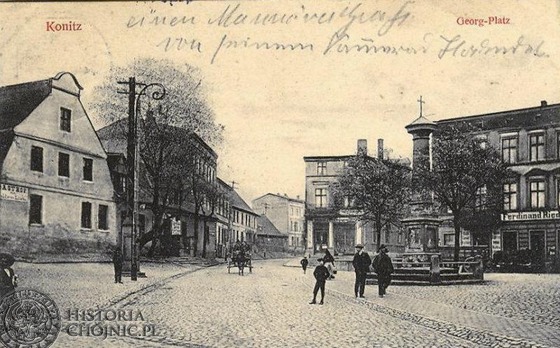 Plac św. Jerzego. Ok. 1917 r.