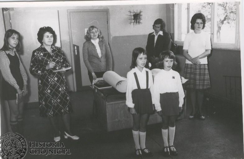 Lata 1970 - 1980. Pierwszoklasiści.