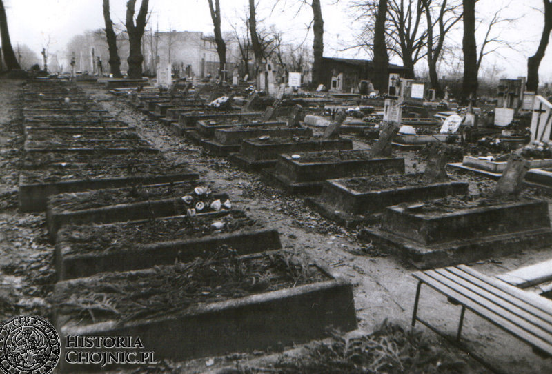 Groby poległych ulanów.