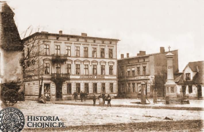 Plac św. Jerzego. Początek XX w.