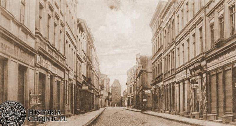 Kamiencie przy dawnej ulicy Gdańskiej.