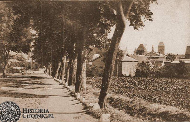Widok na miasto od strony ul. obecnej 14 lutego.