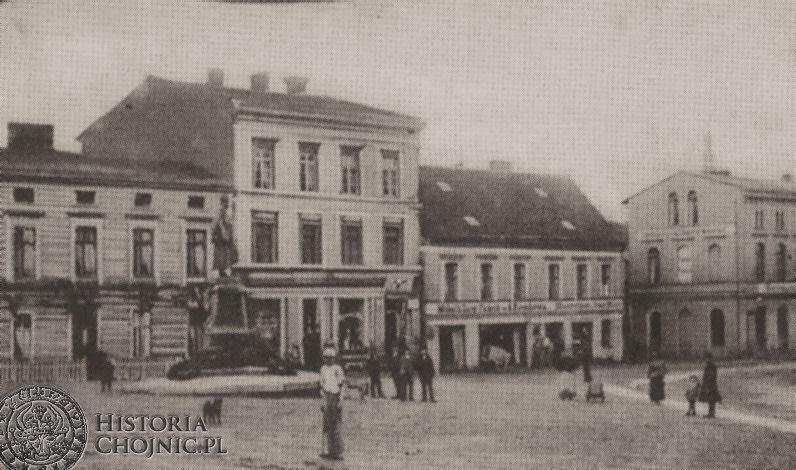 Wilhelmsplatz, ok 1900 r.