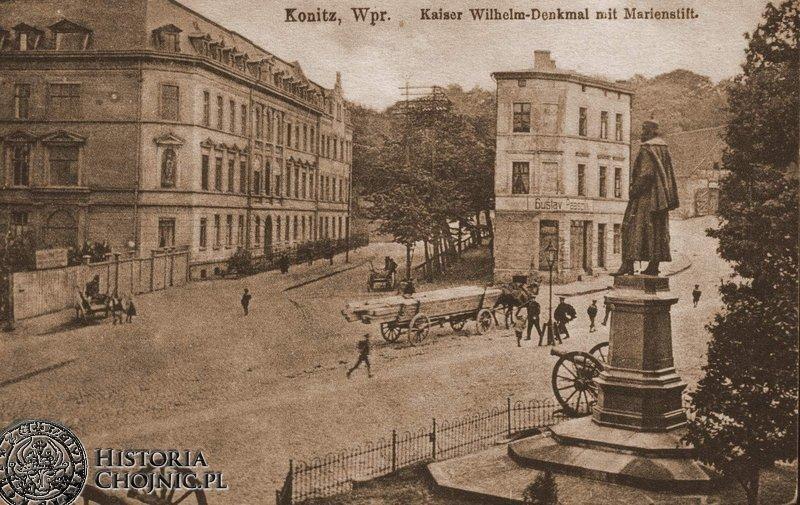 Wilhelmsplatz. Początek XX w.