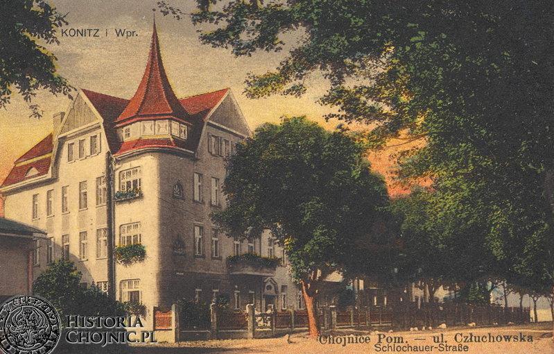 Kamienica przy ul. Człuchowskiej. Ok. 1920 r.