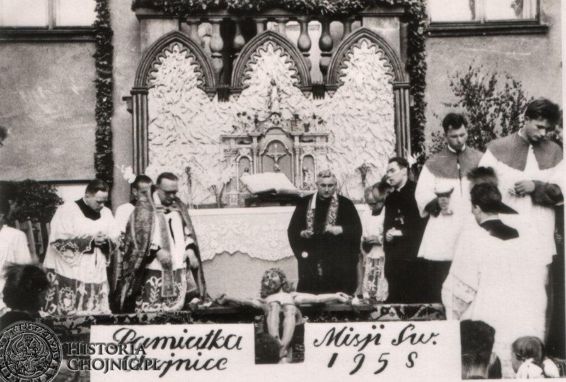 Pamiątka Misji Św. z 1958 r.