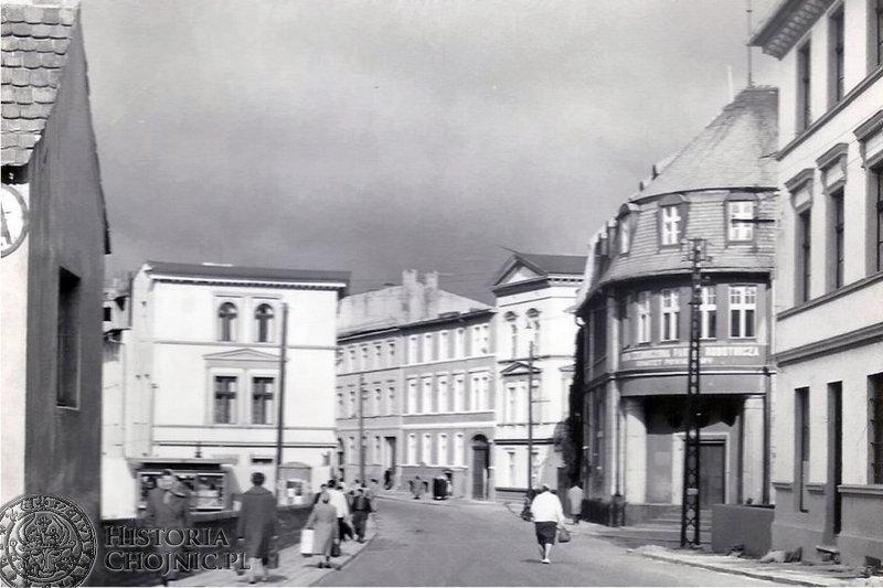 Fragment ul. Młyńskiej. Początek lat 70.