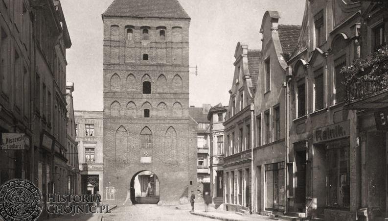 Brama Człuchowska. Ok. 1934 r.