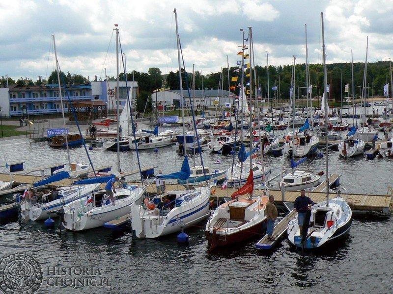 Charzykowy - nowy port jachtowy