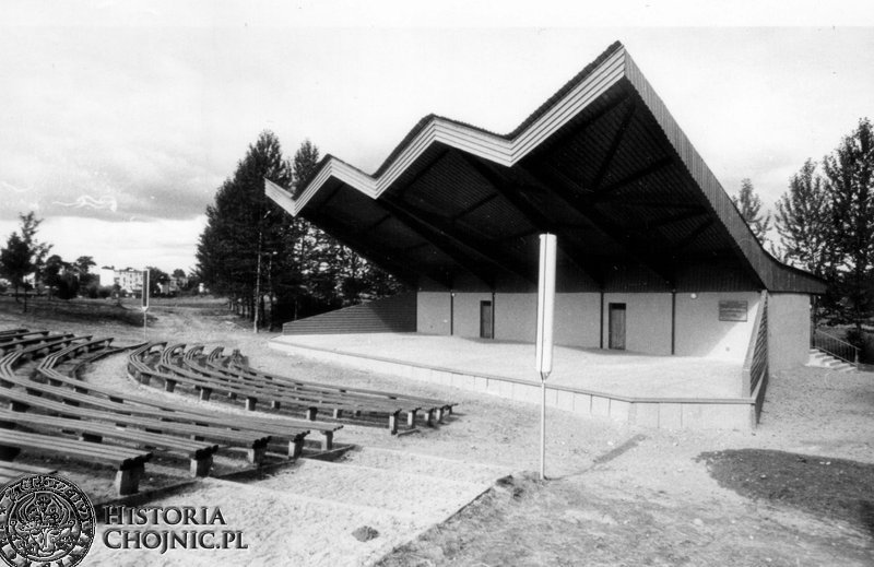 Amfiteatr w Parku 1000 - lecia.