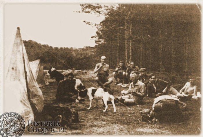 I Chojnicka druzyna harcerska. Ok. 1930 r.