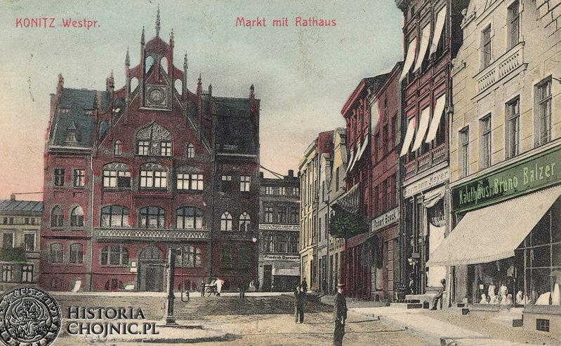 Ratusz. Ok 1906 r.