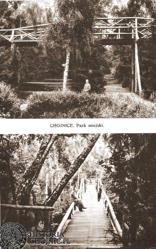 Park miejski (lasek miejski). Lata 30.