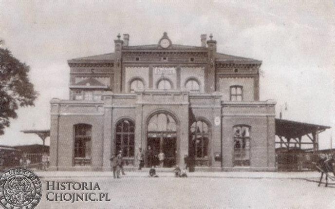 Budynek dworca. Lata 20.
