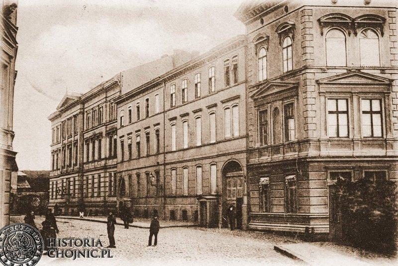 Ulica Młynska. Ok. 1900 r.