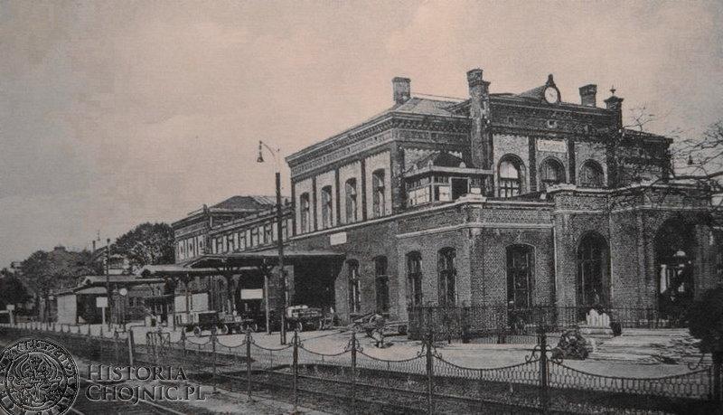 Dworzec. Ok. 1920/30 r.