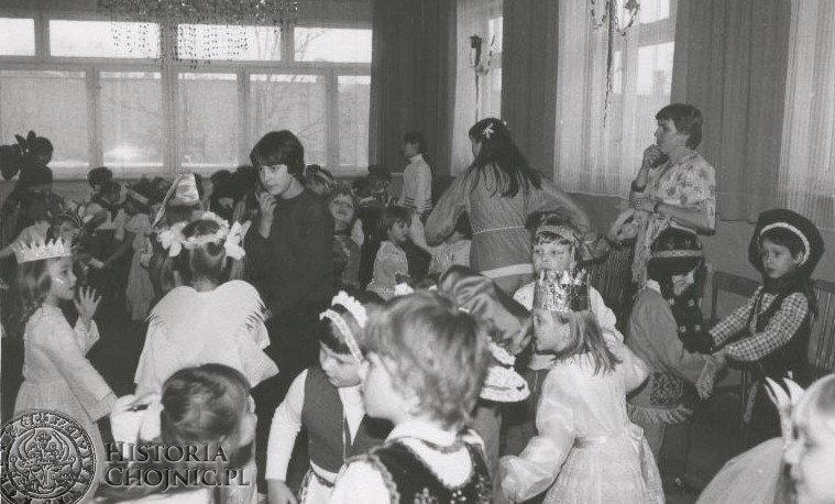 1986 r. Bal Karnawałowy.