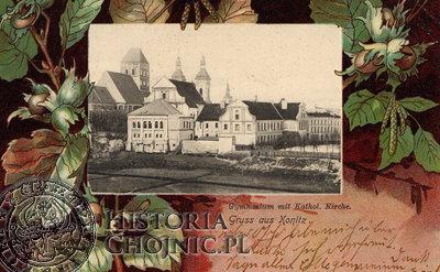 Okolicznościowa widokówka z 1905 r.