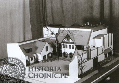 Projekt J. Sabiniarza dotyczący rozbudowy Domu Kultury. L. 80.