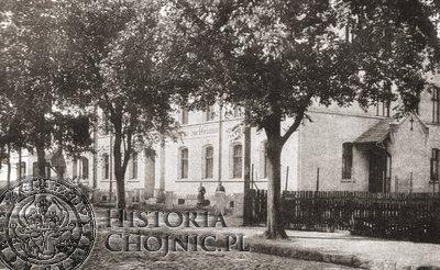 Ewangelickie schronisko młodziezowe. Ok. 1914 r.