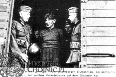 Na potrzeby hitlerowskiej propagandy z Zabłockiego zrobiono mordercę niemieckich żołnierzy.