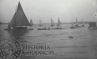Regaty - Charzykowy. ok. 1930 r.