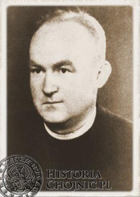 Ks. Brunon Rieband. (1911 - 1979). Od 1955 r. proboszcz w Kuźnicy, od 1964 r. dziekan dekanatu puckiego.