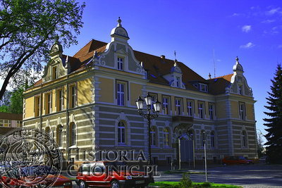 Siedziba Starostwa w Chojnicach.