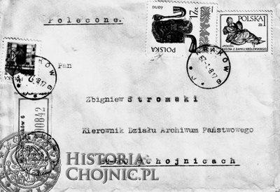 """List adresowany do autora publikacji """"Pamięci godni""""."""