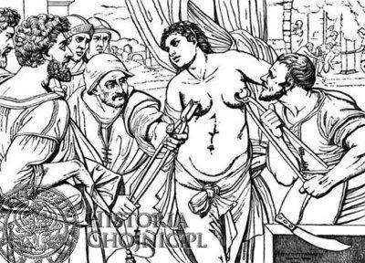 Do najbardziej rozpowszechnionych narzędzi tortur należały rozżarzone cęgi i skrzypce. Cęgi używano do wyrywania nosa i sutek, a szczypce do wyrywania lub łamania rąk i nóg lub do wyrywania piersi.