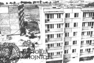 Budowa bloków mieszkalnych na obecnym osiedlu Leśnym.