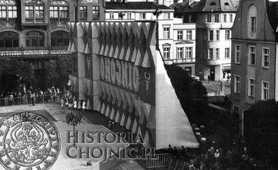 Scena wybudowana przez chojnicki Mostostal.
