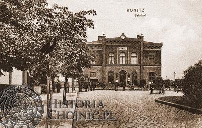 Komisja sanitarna uruchomila m.in. gospodę na dworcu w Chojnicach.