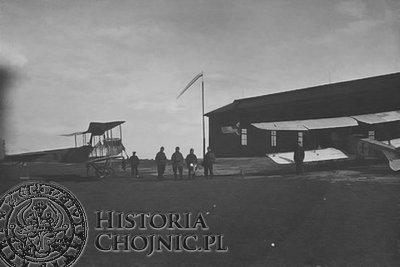 Lotnisko w Chojnicach nazywano Himlerschof.