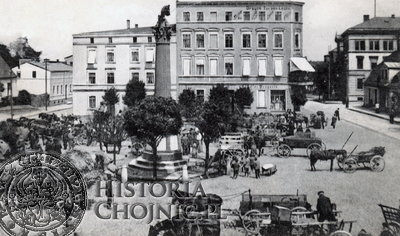 Plac Jagielloński. Ok. 1915 r.