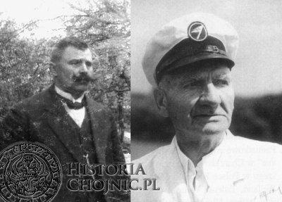 Od lewej: Jan Gierszewki i Otton Weiland.