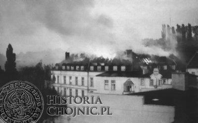Pożar szpitala w Chojnicach we wrześniu 1974 r.