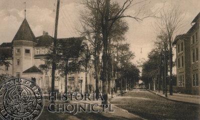 Ulica Dworcowa ok. 1910 r.