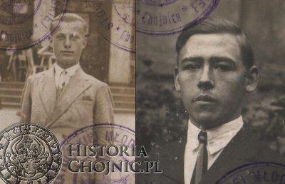 Od lewej: Medard Dończyk i Edward Machel.
