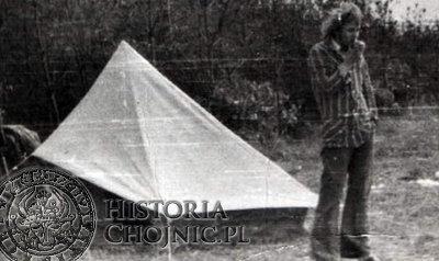 Na wakacjach nad Zalewem Siedleckim, przed wcieleniem do wojska. Lipiec 1976 r. (zdjęcie z archiwum Autora)